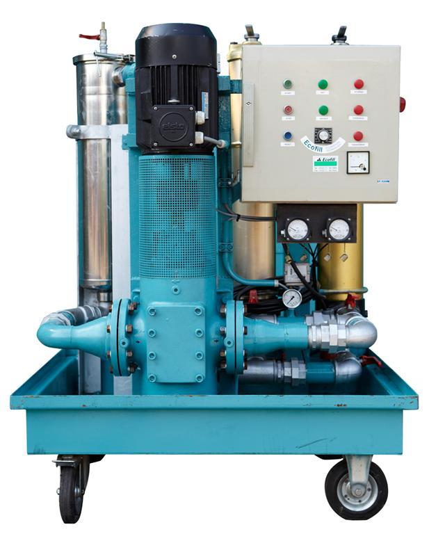 FFA 350 L/min freguentie geregeld (zonder water koeler)